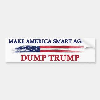 Pegatina Para Coche Haga que América Smart otra vez descarga el