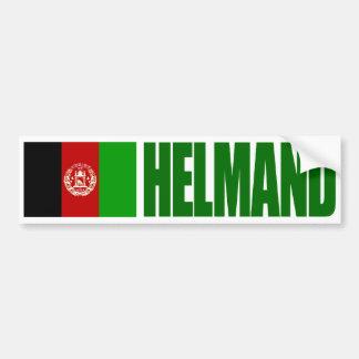 Pegatina Para Coche Helmand - bandera de Afganistán