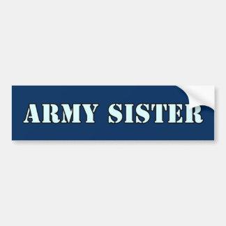 Pegatina Para Coche Hermana del ejército