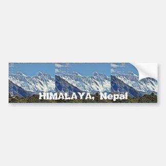 Pegatina Para Coche HIMALAYA - una de 1000 visiónes desde NEPAL