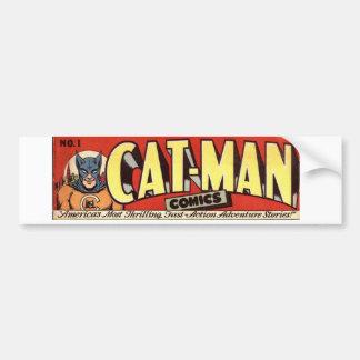 Pegatina Para Coche Hombre que desea la bandera de los gatos
