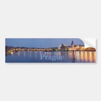 Pegatina Para Coche Hora azul en Praga