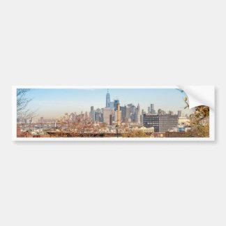 Pegatina Para Coche Horizonte de New York City