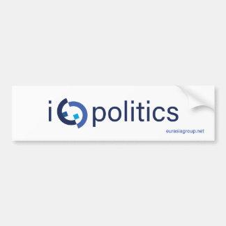 Pegatina Para Coche I política del corazón (quizá demasiado)