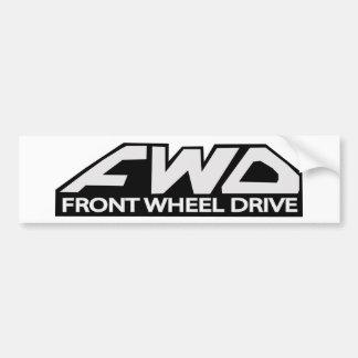 Pegatina Para Coche Impulsión de rueda delantera del FWD