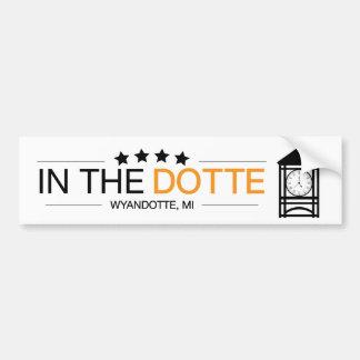 Pegatina Para Coche InTheDotte - Wyandotte, MI - Clocktower