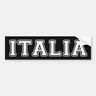 Pegatina Para Coche Italia