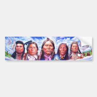 Pegatina Para Coche jefes indios del nativo americano