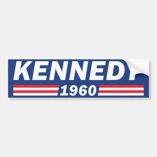 Pegatina Para Coche John F. Kennedy JFK, Kennedy 1960