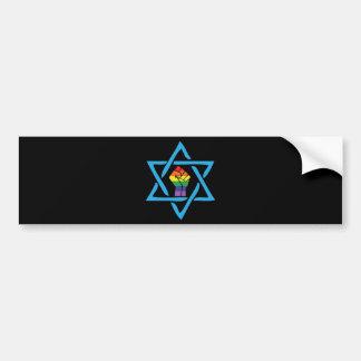 Pegatina Para Coche Judío negro gay