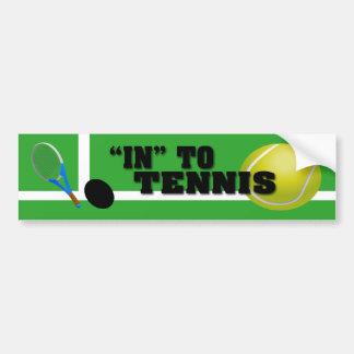 Pegatina Para Coche Jugador de tenis