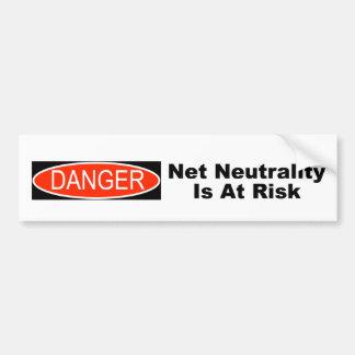 Pegatina Para Coche La neutralidad neta es en peligro