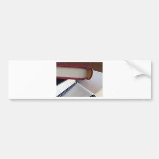 Pegatina Para Coche La segunda mano reserva con las páginas en blanco