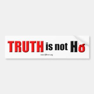 Pegatina Para Coche La verdad no es odio