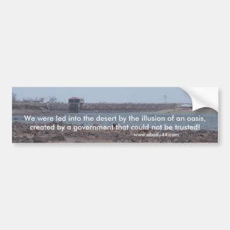 Pegatina Para Coche lago Fallon lahontan Nevada el condado de Churchil