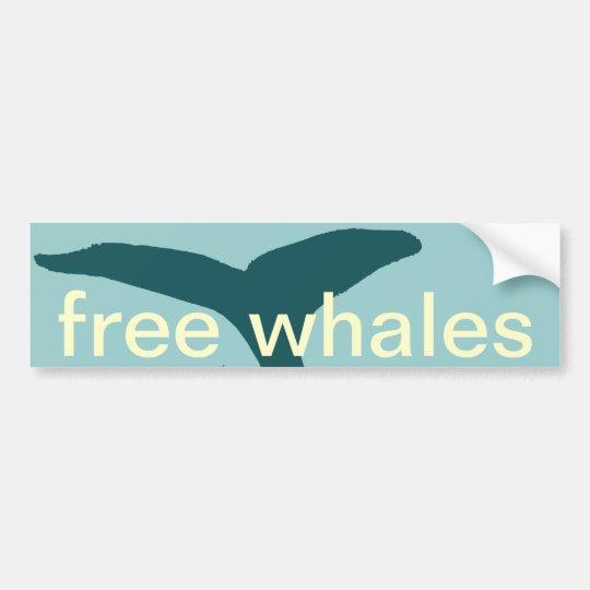 Pegatina Para Coche las ballenas