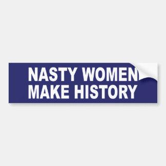Pegatina Para Coche Las mujeres desagradables hacen historia