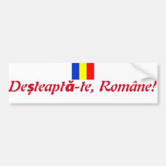 Pegatina Para Coche Lema rumano