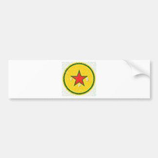 Pegatina Para Coche logotipo 3 del ypg