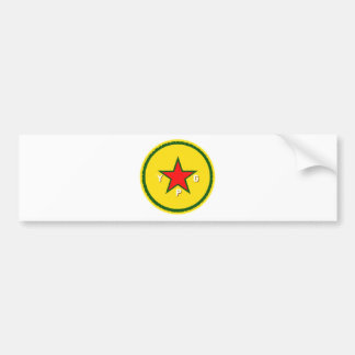Pegatina Para Coche logotipo del ypg