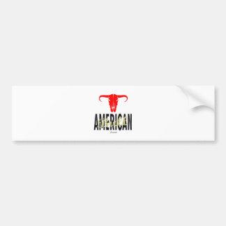 Pegatina Para Coche Los E.E.U.U. americanos Bull por VIMAGO