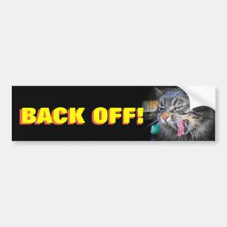 Pegatina Para Coche Los gritos de parachoques del gato retroceden Meme