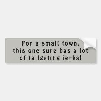 Pegatina Para Coche Los tailgaters de la pequeña ciudad son tirones