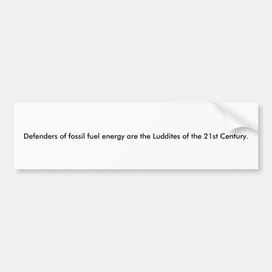 Pegatina Para Coche Luddites del siglo XXI