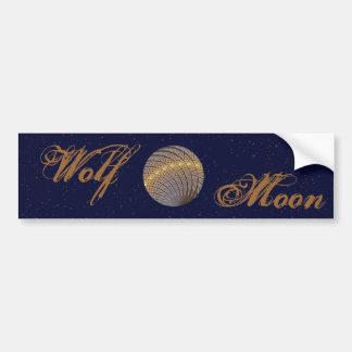 Pegatina Para Coche Luna reservada del lobo