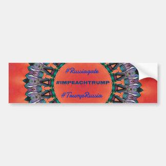 Pegatina Para Coche Mandala política de Russiagate del #Impeachtrump