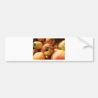 Pegatina Para Coche Manzanas