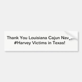 Pegatina Para Coche Marina de guerra de Cajun