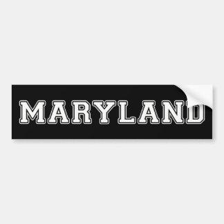 Pegatina Para Coche Maryland