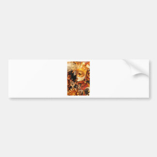 Pegatina Para Coche Máscaras venecianas