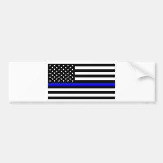 Pegatina Para Coche Materia azul de las vidas - la policía de la
