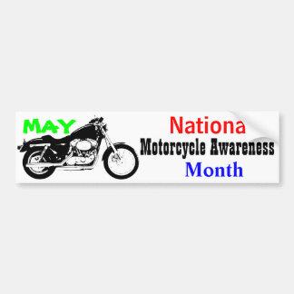 Pegatina Para Coche Mayo - mes nacional de la conciencia de la