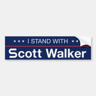 Pegatina Para Coche Me coloco con el caminante de Scott