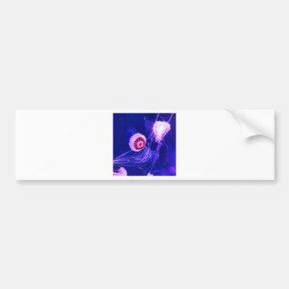 Pegatina Para Coche Medusas luminosas de neón