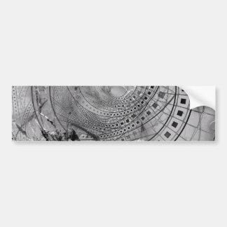 Pegatina Para Coche Memorias hechas fragmentos del fractal y vidrio