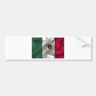 Pegatina Para Coche México-Bandera