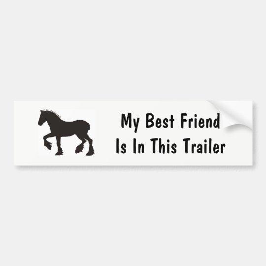 Pegatina Para Coche Mi mejor amigo