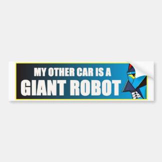 Pegatina Para Coche Mi otro coche es un robot gigante