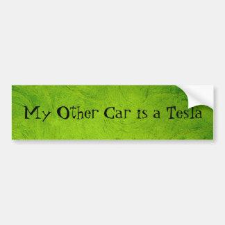 Pegatina Para Coche Mi otro coche es un Tesla