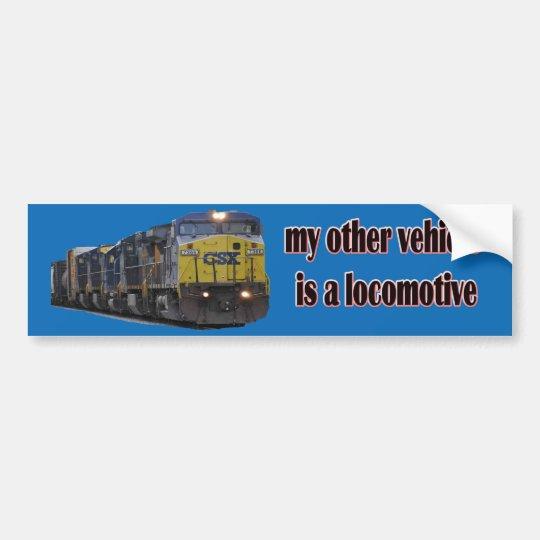 Pegatina Para Coche Mi otro vehículo es CSX locomotor