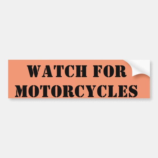 Pegatina Para Coche Mire para las motocicletas