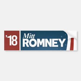 Pegatina Para Coche Mitt Romney 2018