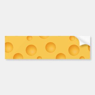 Pegatina Para Coche Modelo amarillo del queso