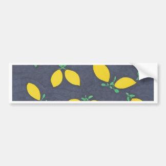 Pegatina Para Coche Modelo del arte de la comida de las gotas de limón