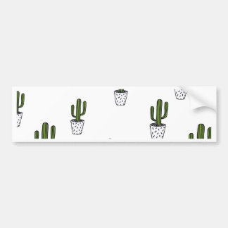Pegatina Para Coche Modelo del cactus