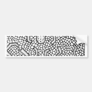 Pegatina Para Coche Modelo indonesio celular de la materia textil